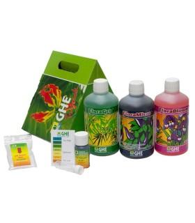 GHE TriPack Flora Zacht Water 3 x 500 ml