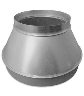 Verloopstuk (reductie) 350/450 mm staal