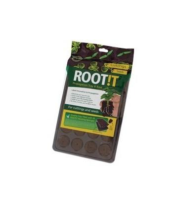"""Root!t voorgroeikit """"wortelsponzen"""" incl. propagator"""