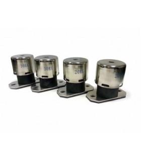Trilling isolator veren voor OC 2000 en 3500pro3 (set van 4)